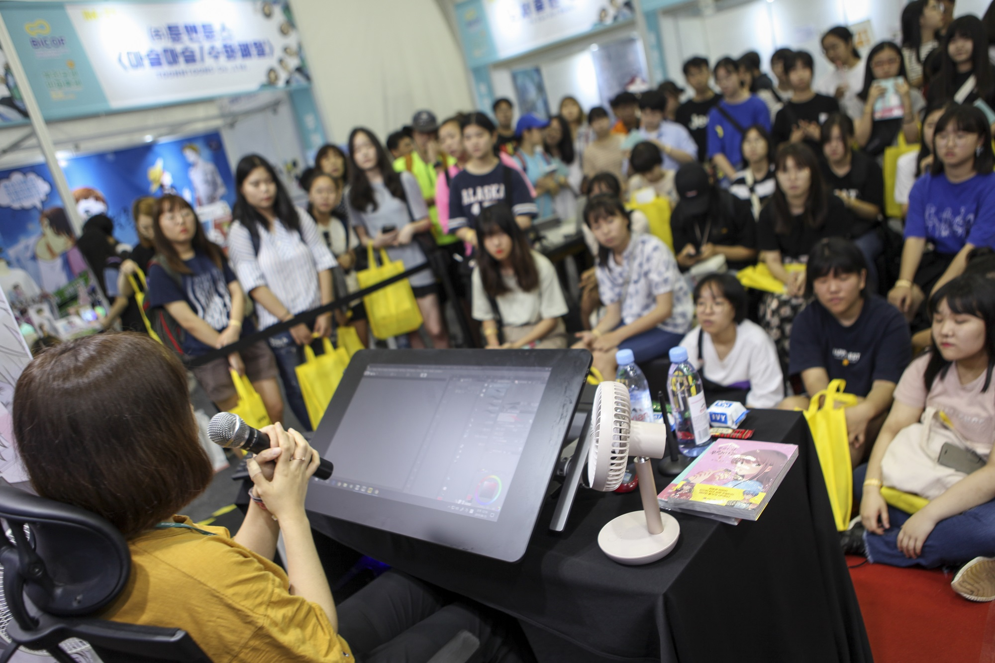 제22회 부천국제만화축제 - 마켓관 작가 이벤트
